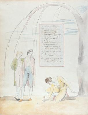 'A Long Story', design 22 for 'The Poems of Thomas Gray', 1797-98