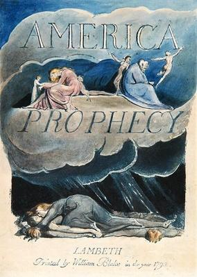 Title page of 'America: A Prophecy', 1793