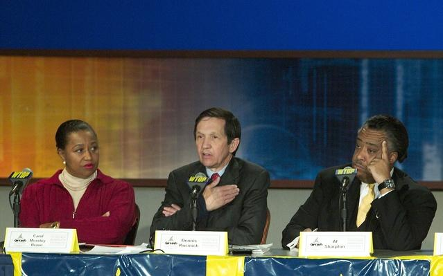 Three Democrats Debate In DC | U.S. Presidential Elections 2004