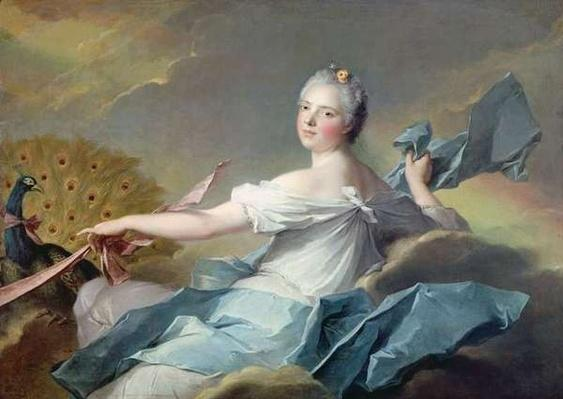 Adelaide de France, as the element of Air, 1750-1