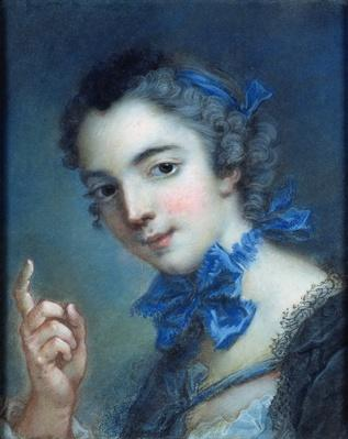Portrait of a young girl, c.1750