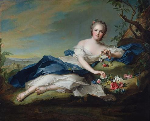 Portrait of Henriette de France, c.1742