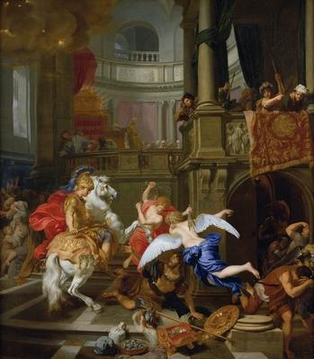 The Expulsion of Heliodorus from the Temple, 1674