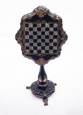 Games table, c.1850-60