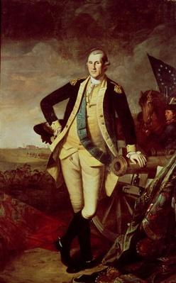 George Washington at Princeton, 1779 (oil on canvas) by Peale, Charles Willson (1741-1827)