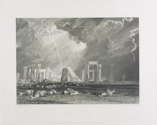 Stone Henge, 1829