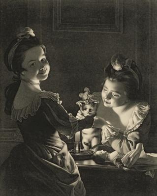 Miss Kitty Dressing, 1781