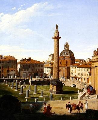 A View of Trajan's Forum, Rome, 1821