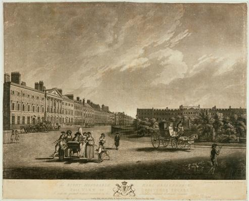 View of the north side of Grosvenor Square, 1789