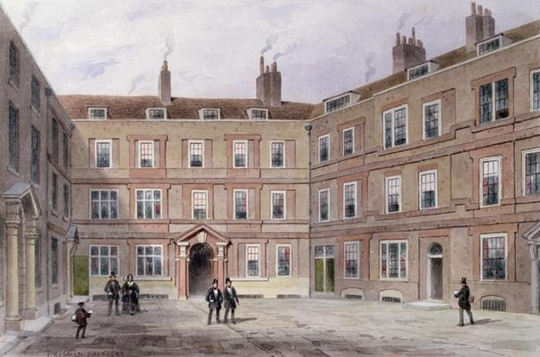 The College of Advocates, Doctors' Commons, 1854
