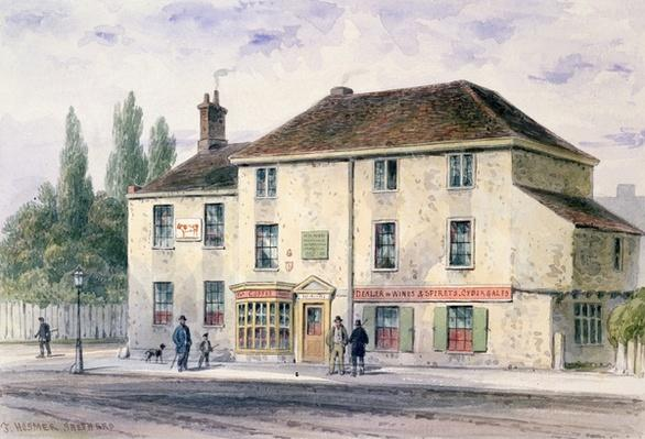 Pied Bull Public House, 1848
