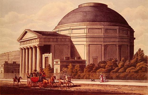 View of the Colosseum, Regent's Park