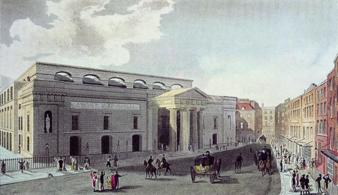 Theatre royal, Covent Garden, 1809