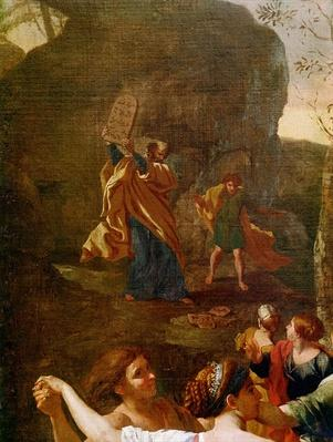 The Adoration of the Golden Calf, before 1634