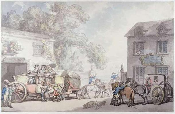 Travelling in France, c.1790