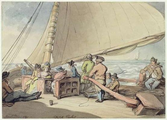 A Dutch Packet in a Rising Breeze, 1791
