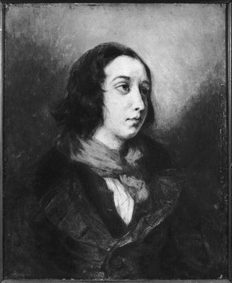 Portrait of George Sand, 1838