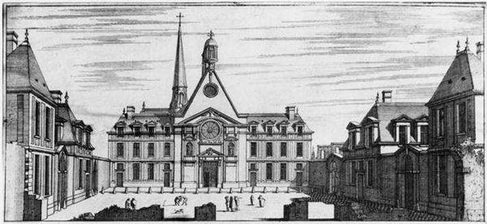 View of Hopital des Incurables