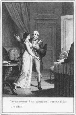 Illustration from 'The Sorrows of Werther' by Johann Wolfgang Goethe