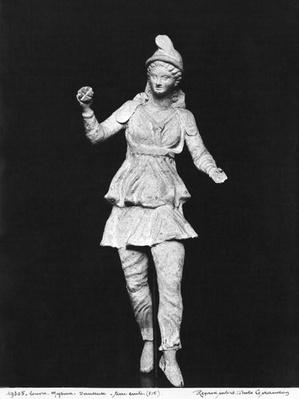 Attis dancing, Hellenistic period, second half 2nd century BC, from Myrina