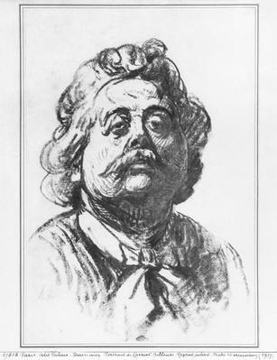 Portrait of the sculptor Albert Ernest Carrier-Belleuse, 1863