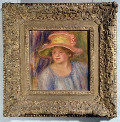 Woman with a hat, c.1915-19 ?