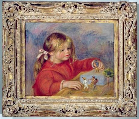 Claude Renoir at play, c.1905