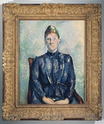 Portrait of Madame Cezanne, c.1890