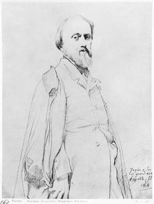 Portrait of the painter Hippolyte Flandrin, 1844