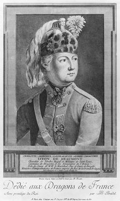 The Chevalier d'Eon as a Dragoon, 1779