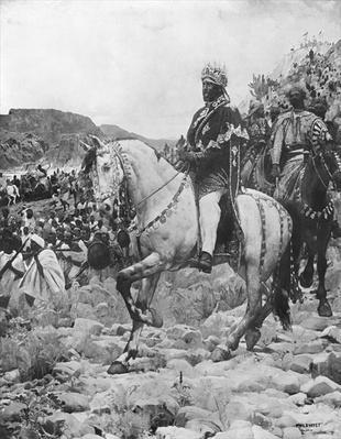Negus of Ethiopia, Menelik II