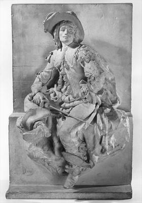 Model for the Monument to Alexandre Dumas Pere, d'Artagnan or Figure of a musketeer, 1882