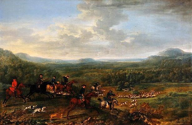 A Fox Hunt, c.1730-40