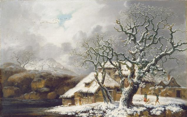 A Winter Landscape, 1752