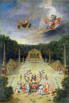 The Groves of Versailles. L'Arc de Triomphe