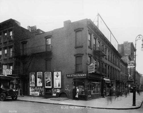 Intersection Of West 55th St. & 9th Ave | The Gilded Age (1870-1910) | U.S. History