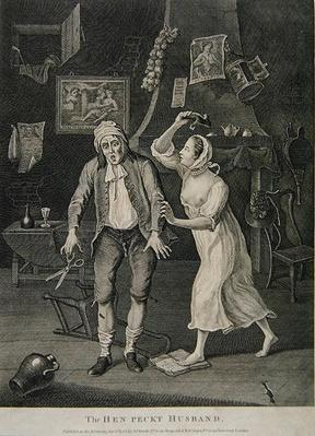 The Hen Peckt Husband, 1768