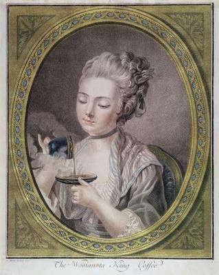 The Woman Taking Coffee, c.1774