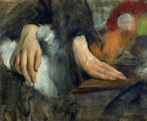 Study of Hands, 1859-60