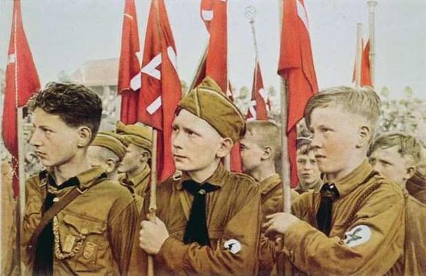 Hitler Youth Parade, Nazi Germany, 1933