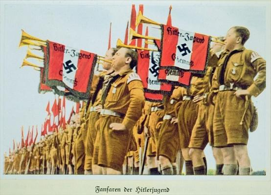 Fanfare of the Hitler Youth, Nazi Germany, 1935