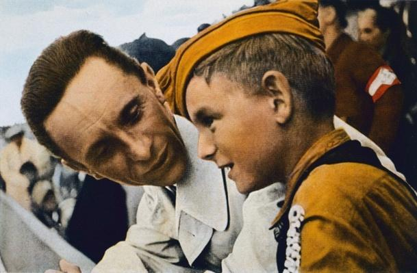 """""""A word with Dr Goebbels"""", Nazi Germany, 1934"""