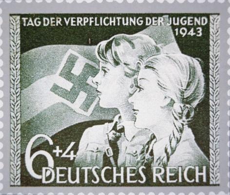 Nazi commemorative stamp, Germany, 1943