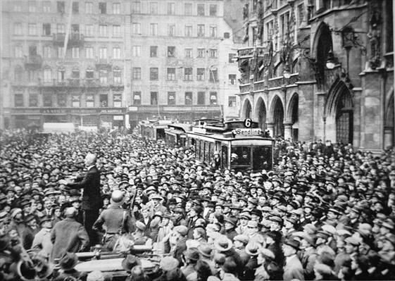 Munich Putsch, 1923