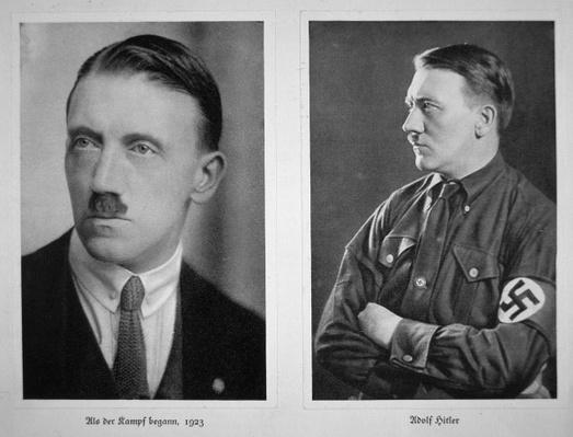 Adolf Hitler, 1923 & 1933