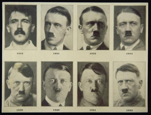 Adolf Hitler at various ages, 1916-32