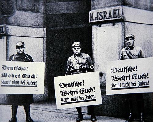 Anti-Semitic campaign, 1933