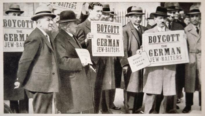 Anti-German mass meeting, London, 1933