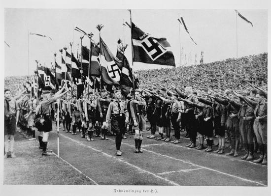 Hitler Youth on Parade, 1933