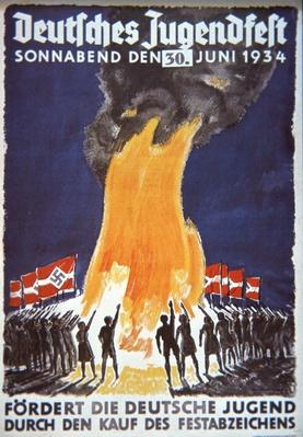 Nazi Youth Festival poster, 1934